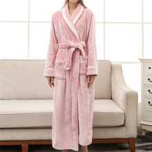 f412effc9fd36 Long Fleece Robe Promotion-Shop for Promotional Long Fleece Robe on ...