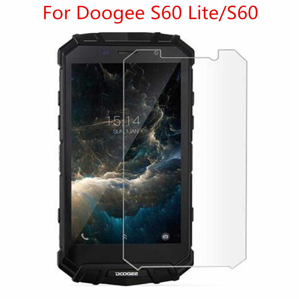 2.5D 0.26mm 9H Premium Tempered Glass For DOOGEE S60 Screen Protector Toughened protective film For DOOGEE S60 Lite Glass