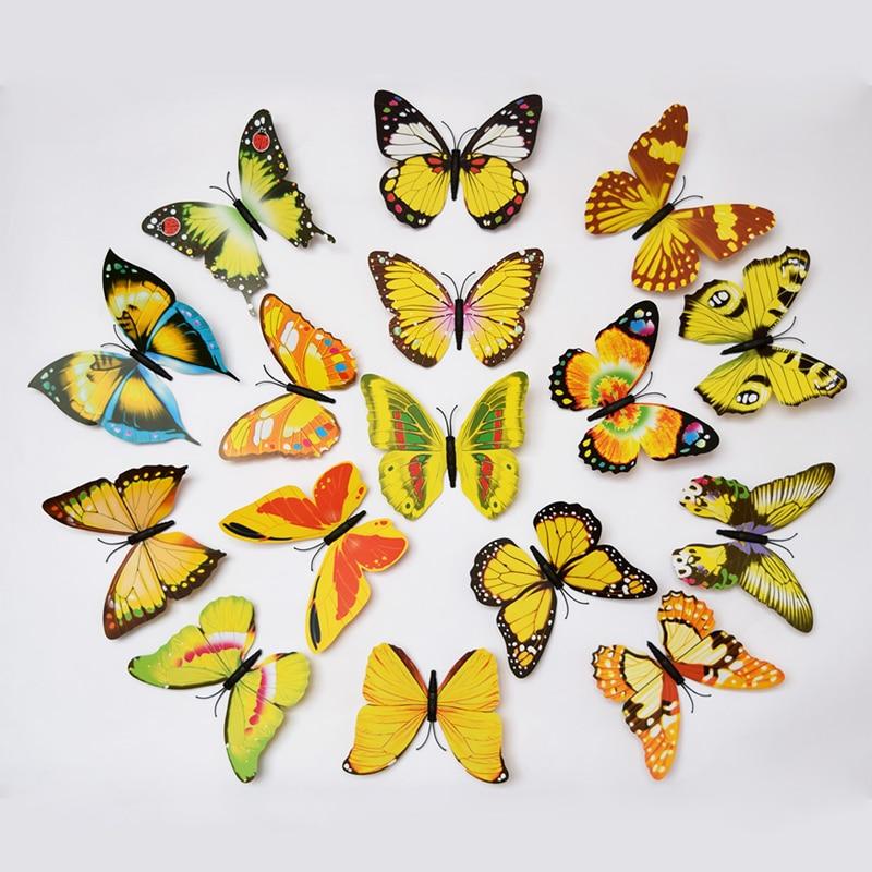 Nice 3d Butterflies Wall Decor Component - Art & Wall Decor ...
