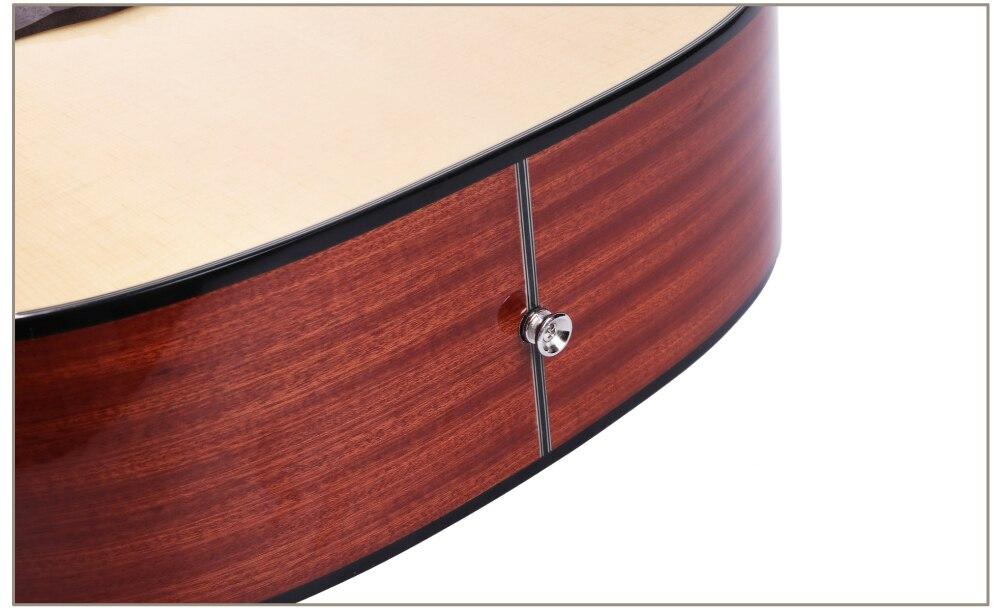 Guitarra acústica guitarras elétricas de aço corda