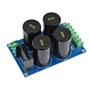 Image 3 - Aiyima Versterker Gelijkrichter Filter Board 4x10000 UF Grote condensator Volledige Brug Filter Subwoofer DC Versterkers DIY KITS