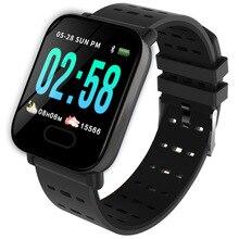 Смарт браслет Bluetooth Смарт часы для Android iPhone Сенсорный экран фитнес часы трекер дистанционный силиконовый браслет