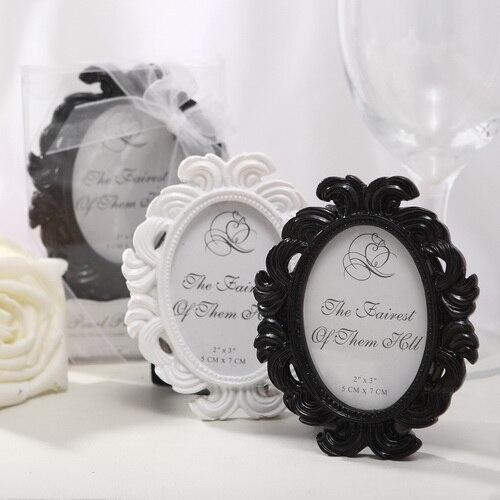 50Pcs Free Shipping Black/White Baroque European Resin Photo Frame ...