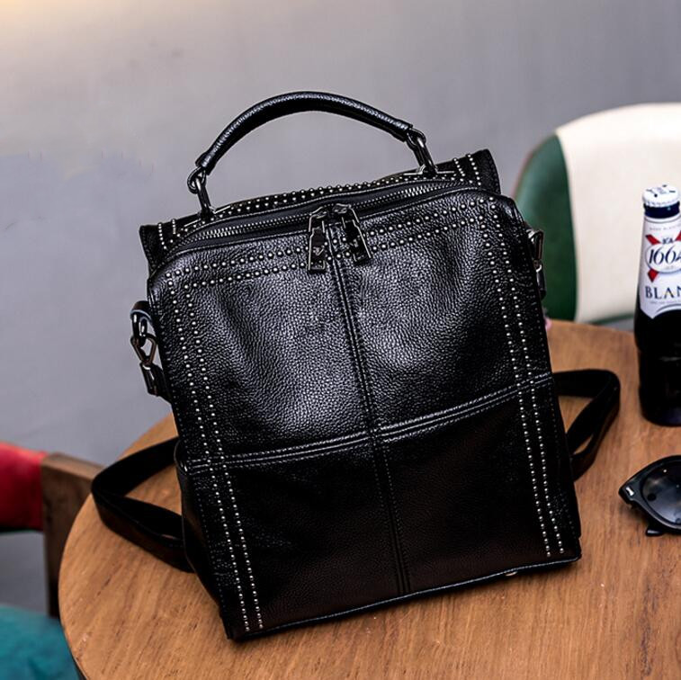 fashion Leather handbag Korean version of the Messenger bag wild Genuine Leather handbagfashion Leather handbag Korean version of the Messenger bag wild Genuine Leather handbag