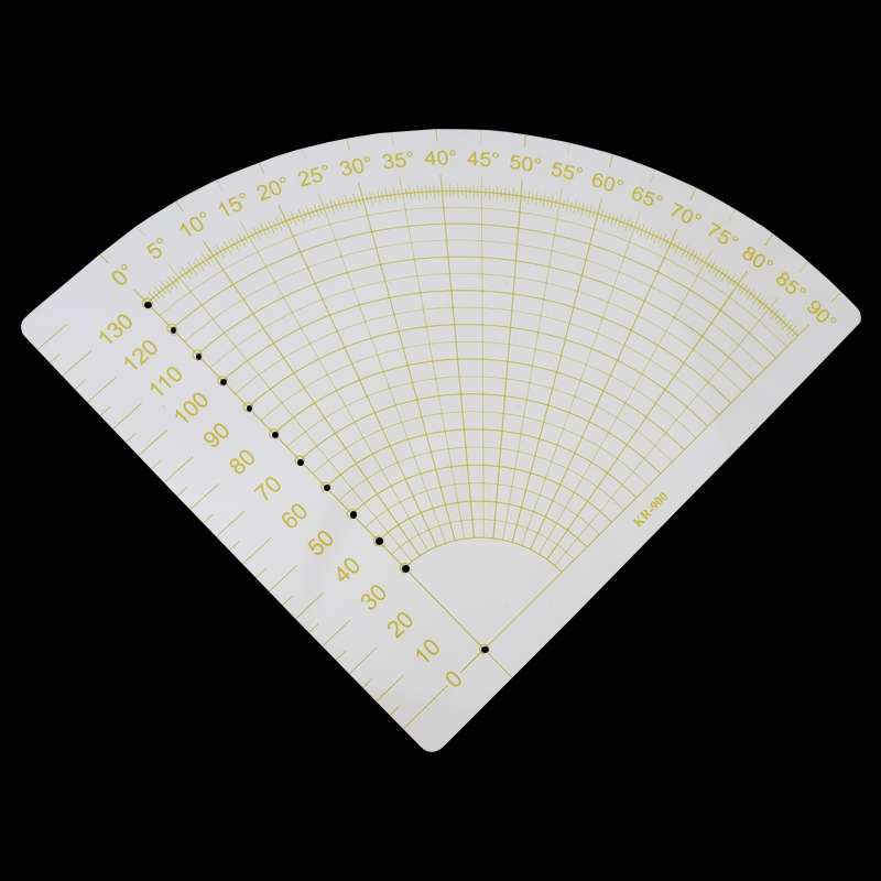tailor sewing tools quilting patchwork scrapbook circl fan foot seam ruler diy X
