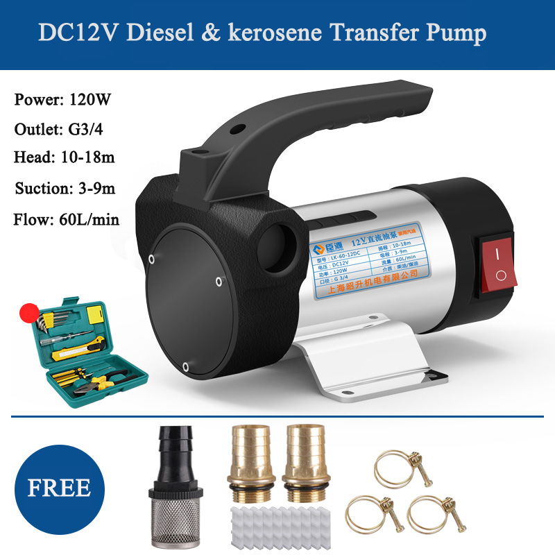 diesel oil & kerosene diesel transfer pump mini diesel pump tools for truck stainless steel diesel transfer pump for oil drum diesel diesel 00ss7q 0jalp 81e