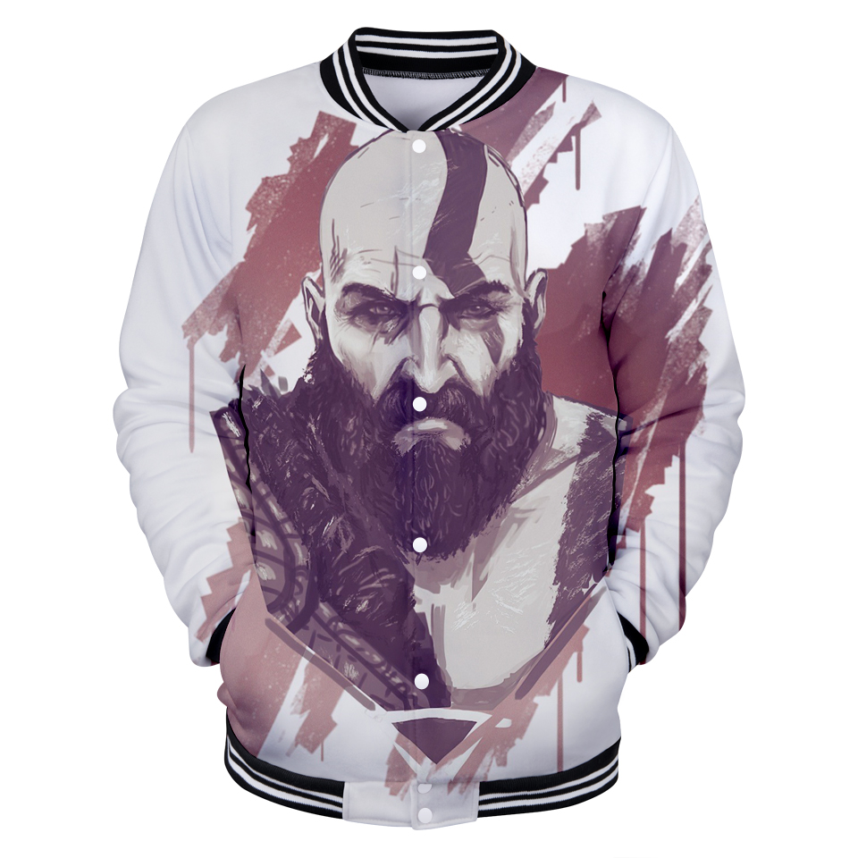 Cool And Fashion Style Ares 3D New Baseball Coat Game Anime Women/men Regular Baseball Jacket Collage Casual Style Clothes