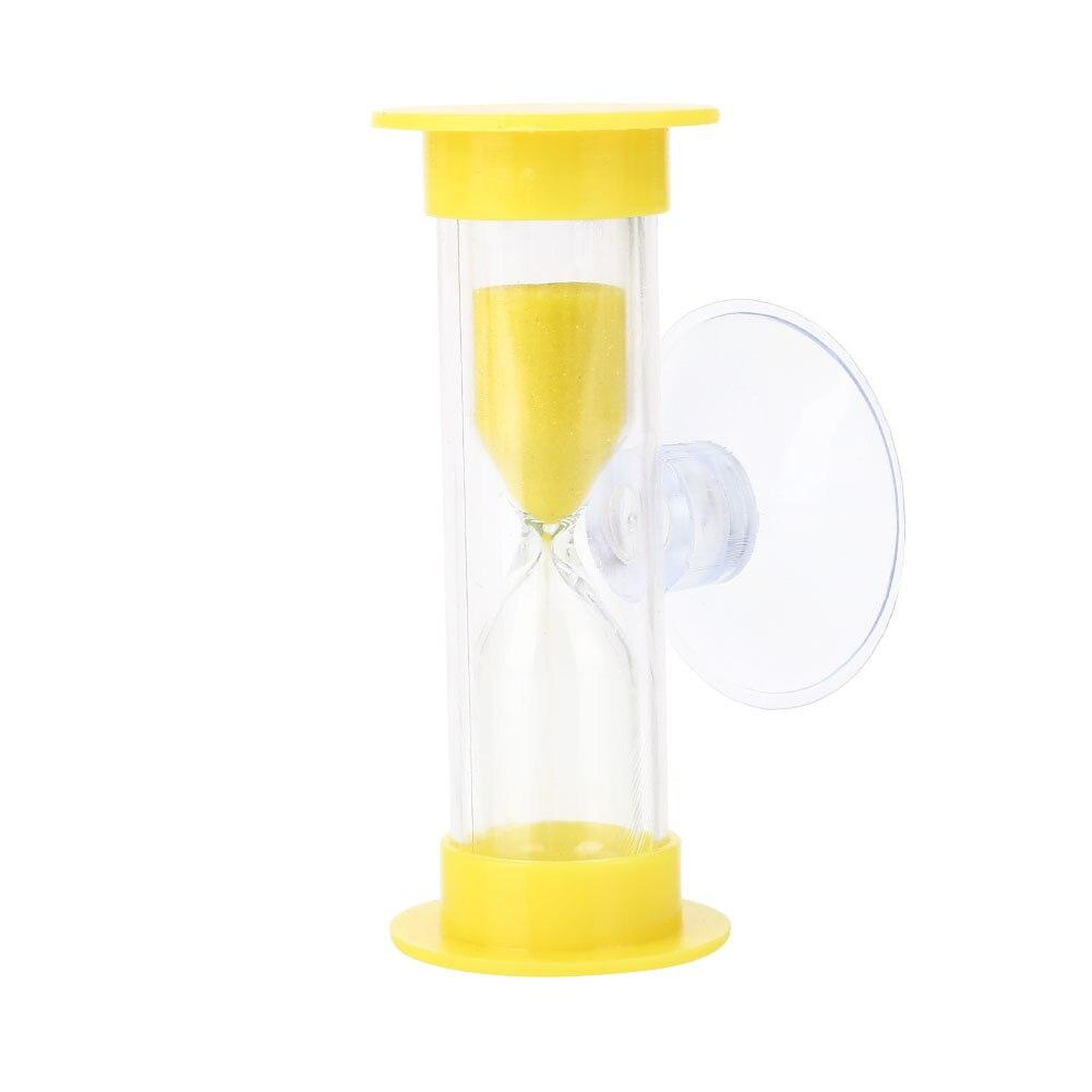 ABS душ таймер песочные часы с присоской ванная комната время для купания гаджет практичный и удобный красочный таймер для купания - Цвет: yellow
