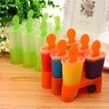 Самодельные DIY формы для мороженого 4 6 8 ячеек  формы для кубиков льда  летняя форма для приготовления мороженого  кухонные инструменты  случ...