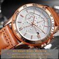 Relogio Masculino OCHSTIN Top Luxus Marke Männer Sport Uhren herren Quarz Datum Uhr Mann Leder Armee Military Armbanduhr 2019