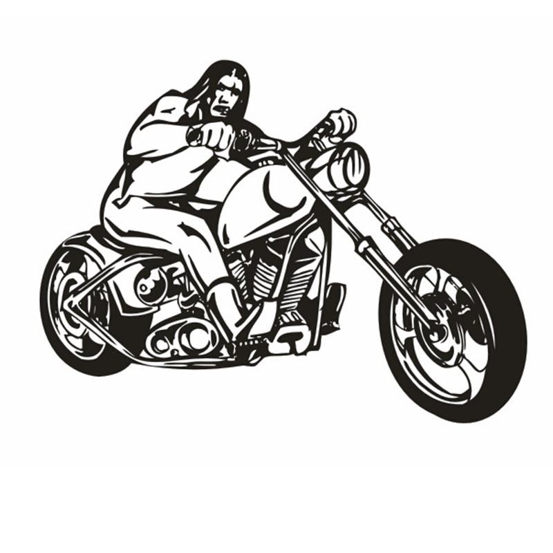 Sepeda Motor Stiker Kendaraan Decal Klasik Punk Poster Dinding