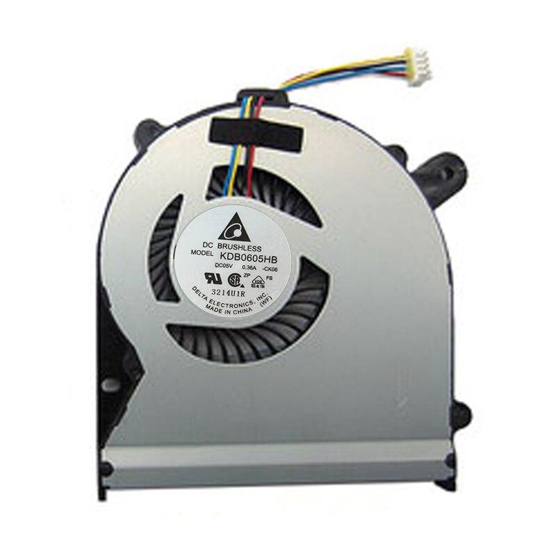 Новое и оригинальное Процессор вентилятор охлаждения для ASUS S400 S500 S500C S500CA V500C X502 X502C DC 5 В 0.36A охладитель радиатор