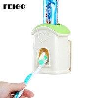 FEIGO 1 шт. Творческий дом Автоматический Диспенсер зубной пасты, для зубной щетки держатель настенный комплект для зубной пасты Ванная комнат...