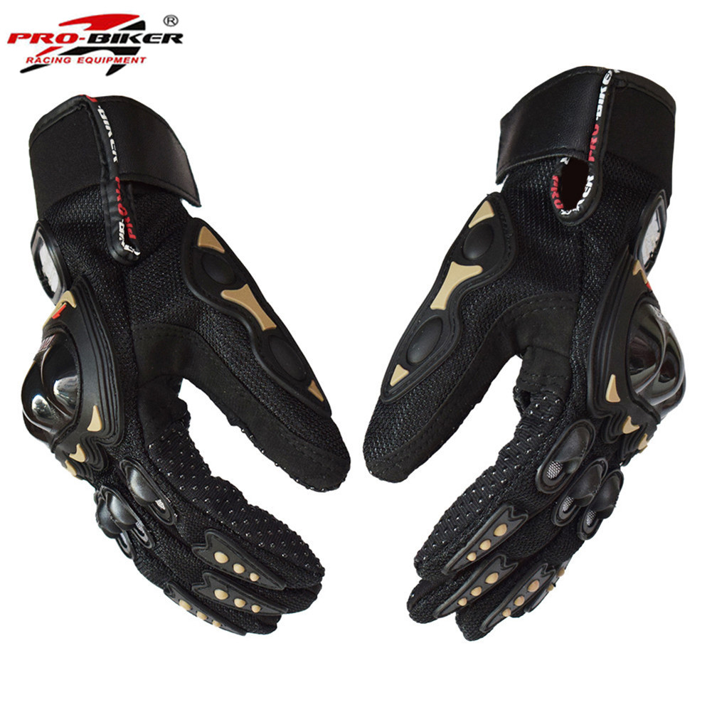 Pro-Biker Motorcycle Gloves Guantes Moto Luvas Eldiven Handschoenen Luvas da Motocicleta Bike Glove MCS01CPT Summer