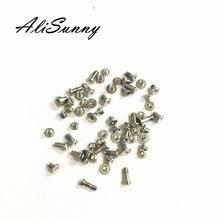Alisunny 50 セット用フルスクリューセット 6 6 s 7 プラス 6 グラム 4.7 6 s plus 6SP 6 p 完全なネジの交換部品