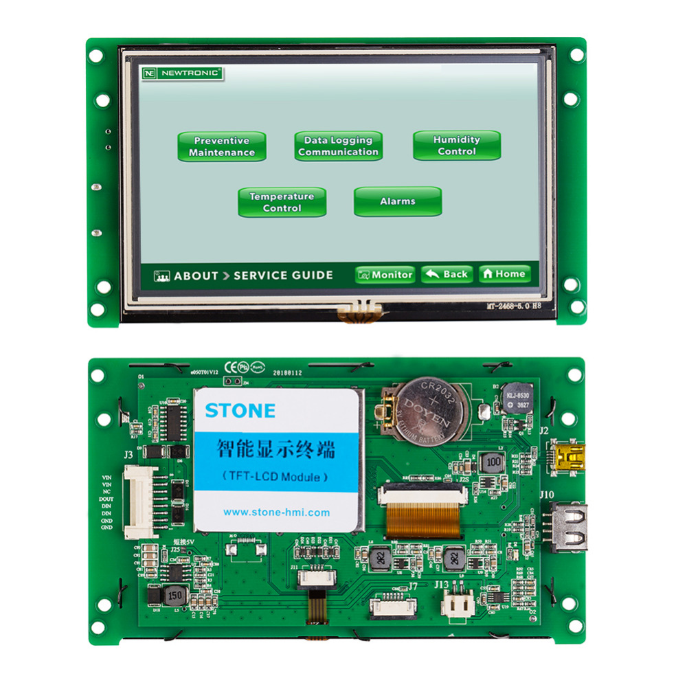 5 Inch TFT LCD Module With High Quality And High Resolution5 Inch TFT LCD Module With High Quality And High Resolution