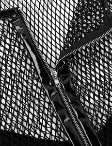 Image 5 - Iiniim chemise à manches courtes pour homme, Punk, Clubwear en cuir verni, hauts dépissure, Clubwear, Costumes de nuit de scène T shirt