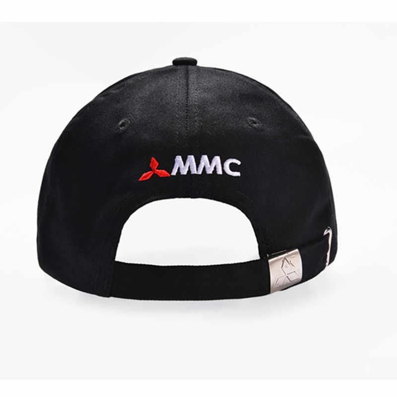 ... New 3D Logo Mitsubishi Hat Car Caps Motogp Moto Racing F1 Baseball Cap  Men Women Adjustable 110cd3a6e827