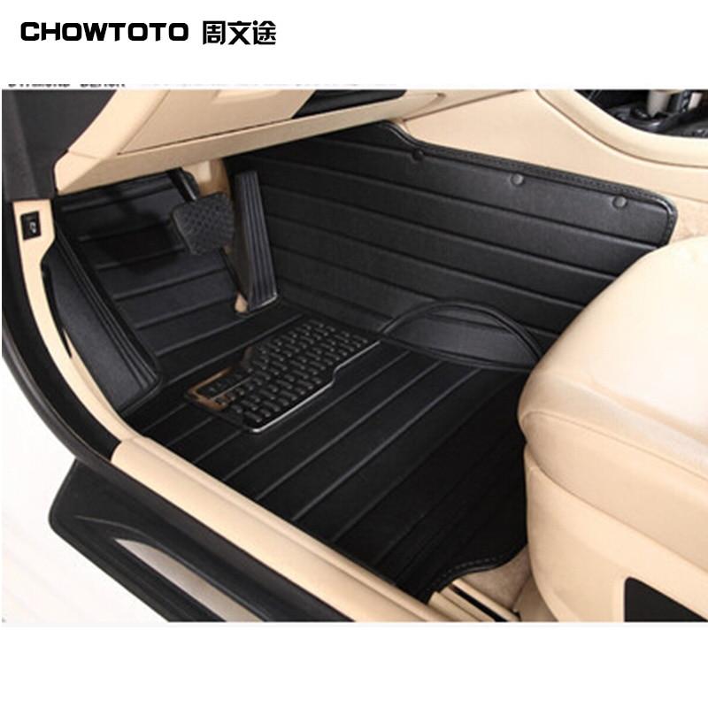 CHOWTOTO Tappetini speciali personalizzati per Ford Mustang 2doors - Accessori per auto interni