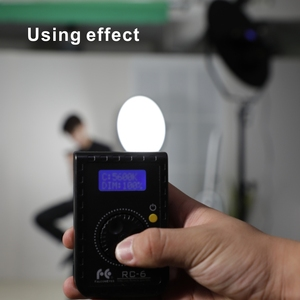 Image 5 - Falcon Eyes รีโมทคอนโทรล RC 6 โรตารี่สำหรับ Led กล้องวิดีโอ RX 12TD RX 18TD & SO 28TD/48TD/68TD soft Light
