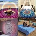 Indio mandala tapiz tapiz hippie de boho playa tiro toalla yoga mat manta cama de tela de mesa decoración 210x150 cm