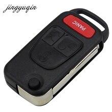 20 штук 3btn + паника HU39/HU64 лезвие ключ складной чехол для Mercedes Benz для мл SL CL 4 кнопки switchblade флип Ключи В виде ракушки