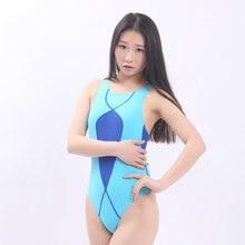 School Bathing Suit Women Bodysuit Sexy Backless Sport Swimwear Swimming Female Professional One Piece Swimsuit