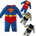 Superman climbing clothing baby clothes foreign trade Batman jumpsuit climbing clothes Rompers