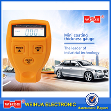 WHDZ Coating Painting Thickness Gauge Tester GM200 Ultrasonic Film Mini Car Coating Thickness measure Paint Thickness