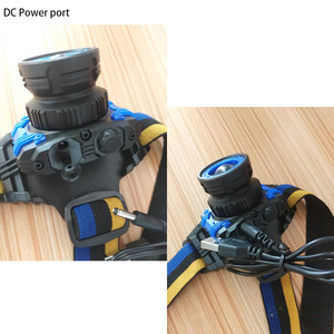 Image 5 - high power Q5 LED Headlamp Flashlight Rechargeable Zoomable Focus Frontale Head Lamp Torch Headlight for Fishing Camping Charger