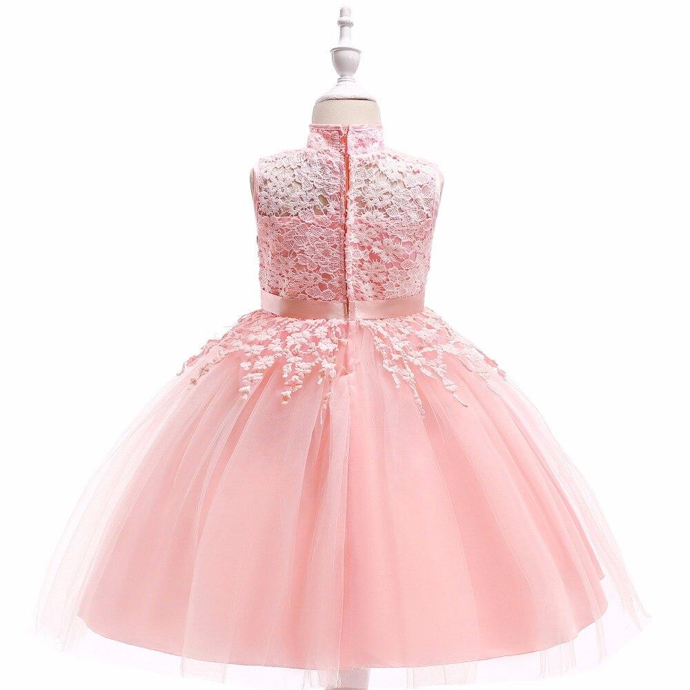 Kleinkind Mädchen Spitze Prinzessin Kleid Elegante Kinder Party ...