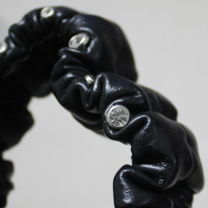 Кристалл салона Аксессуары зеркало заднего вида кожаный чехол Авто Зеркало заднего вида крышка украшение для Для женщин и девочек