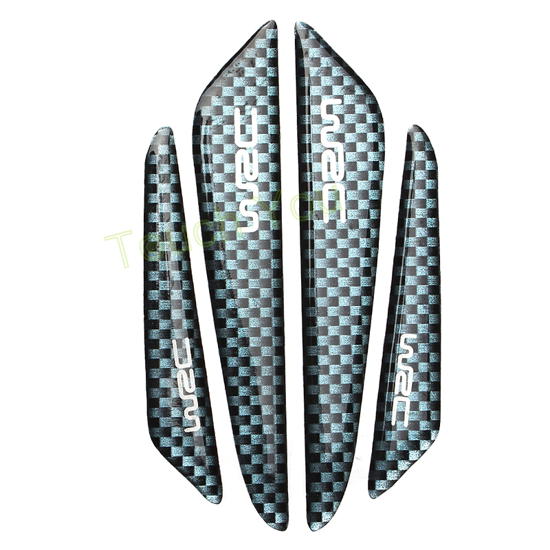 Set of 8, Transparent Y-SPACE Car Door Protector Auto Edge Guard Scratch Strip