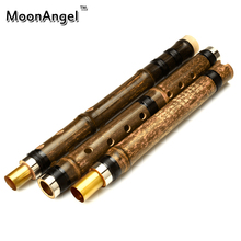 Chinese Flute Xiao Bamboo 3 Section Professional Musical Instrument Woodwind Bambu Flauta Handcraft Vintage Traditional Ethnic