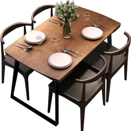 Dining Tables Dining Room Furniture Home Furniture Solid Wood Steel Dining Table Minimalist Modern Kitchen Table 140 160 70 75cm Steel Dining Table Dining Tabletable Dining Aliexpress