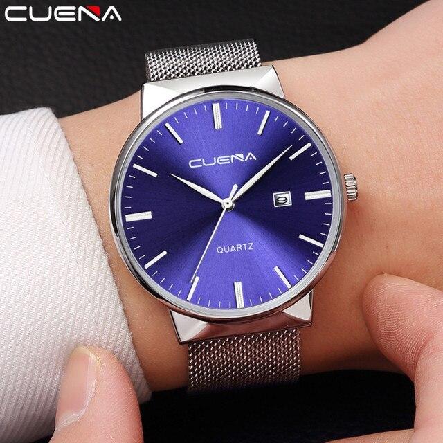 Montre Homme Fashion Men's Watch Waterproof Wrist Watches Men Newest Quartz Watch Ultra Thin Dial Clock Men Relogio Masculino