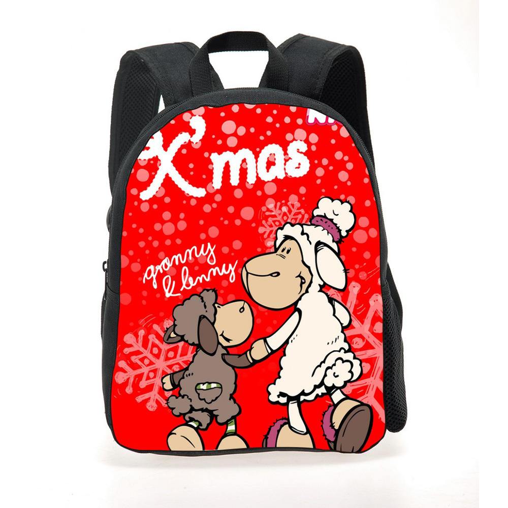 2017 new nici printed school bag for boys cute nici baby bag for school girl school bags kids book bags for mochilas infantis in School Bags from Luggage Bags