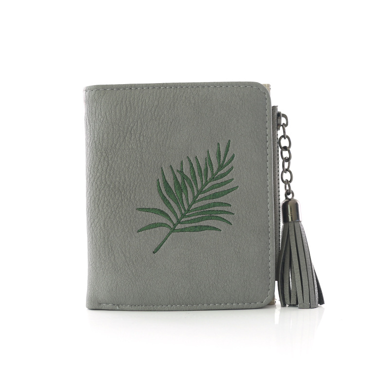 Tassel Wallets Ladies Mini Clutch Wallets for Women Fashion PU Leather Female Bags ID Card Holders Wallet Purses Lady Bag