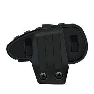 Image 2 - UNA Coppia VNETPHONE V8 Citofono Del Motociclo 5 Piloti Sistema di Comunicazione Bluetooth Casco Walkie Talkie NFC A Distanza di Controllo
