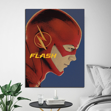 The Flash Cartoon Poster Comic Paintings On Canvas Modern Art Decoration Wall Pictures Children For Living Room Home