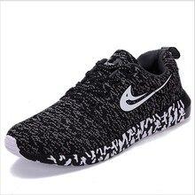 Nueva llegada de los hombres zapatos corrientes de los deportes para el athletic runner zapatillas de deporte de los hombres al aire libre de malla transpirable zapatilla de deporte