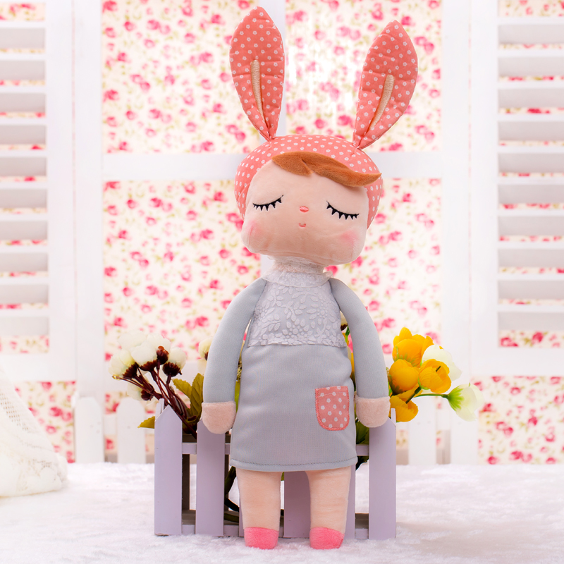 13 Inch Baby Toys for Girls Kids Toys Stuffed & Plush Animals Christmas Birthday Gift 34cm Kawaii Angela Rabbit Metoo Doll 13 inch kawaii plush soft stuffed animals baby kids toys for girls children birthday christmas gift angela rabbit metoo doll