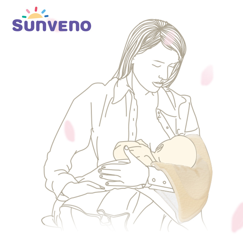 SUNVENO Cotton Nursing Arm Pillow Newborn Baby Pillow Breastfeeding Baby Bedding Accessories Washable Adjustable