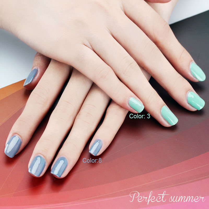 Perfect Summer Gel Polish LED UV Soak off Long Lasting Gel Nail ...