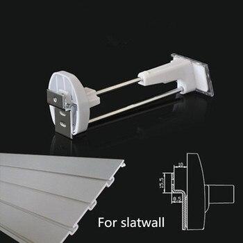 7 inch einzelhandel sicherheit display slatwall haken 100 stücke + 2 stücke magnetische detacheure (Dietrich) DHL schnelle versand