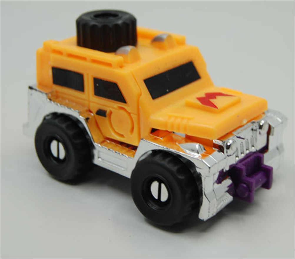 Kartun Mainan Rusia Api Memilih Zeng Racin Deformasi Kaki Panjang Mobil Mini Model Bahasa Rusia Hadiah Terbaik untuk Koleksi