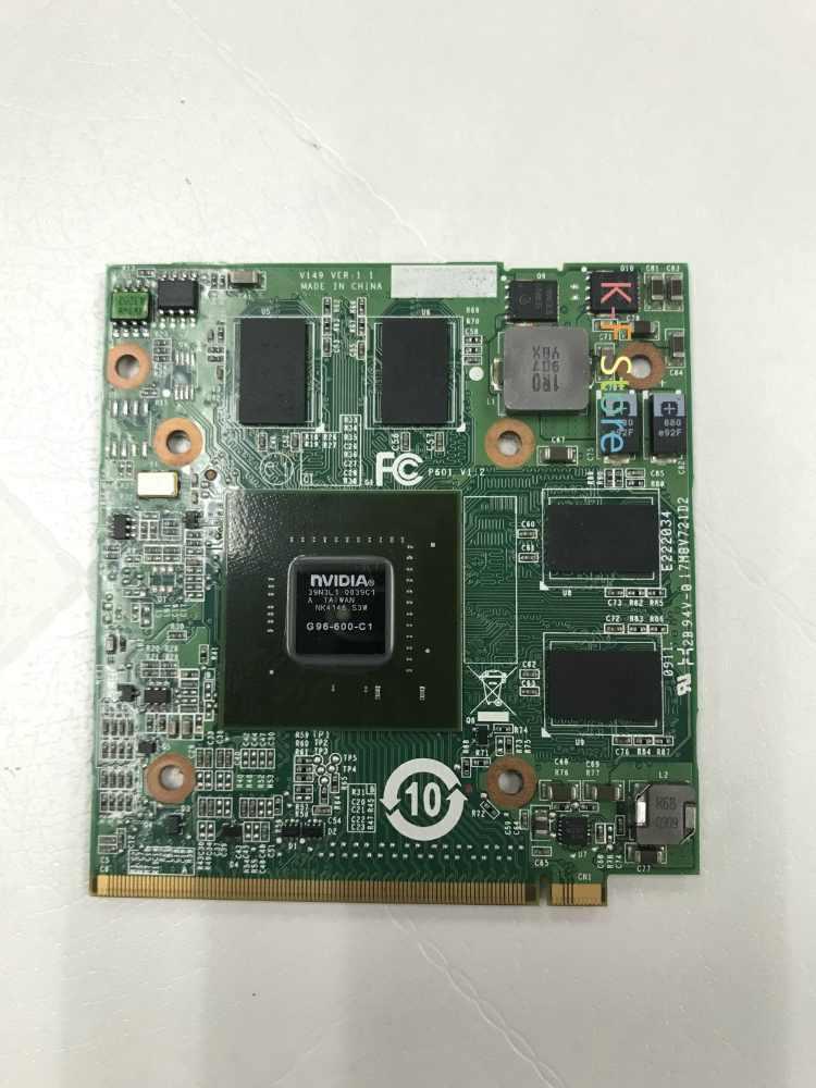GeForce 9600 M GT GDDR3 512 MB MXM G96-630-A1 G96-600-C1 cho Acer Aspire 6930 5530G 7730G 5930G 5720G Máy Tính Xách Tay Đồ Họa Video Thẻ