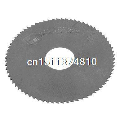 6cm x 0.05cm x 1.6cm 72 Teeth HSS Slitting Saw Blade Cutting Tool  цены