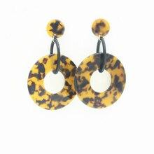 Korean Acrylic Dangle Earrings for Women Orecchini Brincos Boucle Doreille Oorbellen Statement Earing Earings Fashion Jewelry