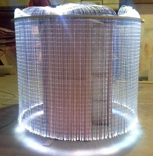 Sensory Sparkle Optic Fiber Light Kit 40pcs 3*075mm 3m with 16W LED Light Source RF Remote Controller